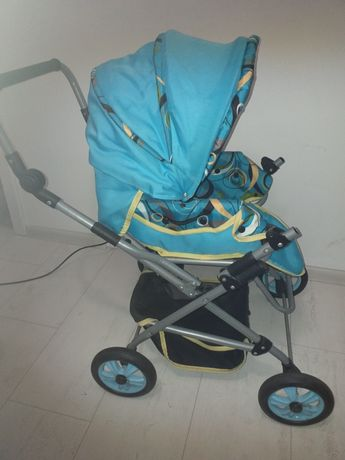 Wózek dla lalek spacerowy głęboki gondola +gratisy