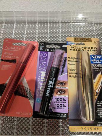 Тушь L'Oréal, Maybelline, Revlon, Almay, оригинал США