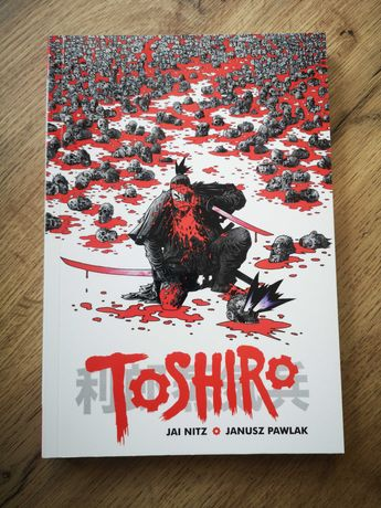 Komiks Toshiro, Jai Nitz, Janusz Pawlak, Kultura Gniewu