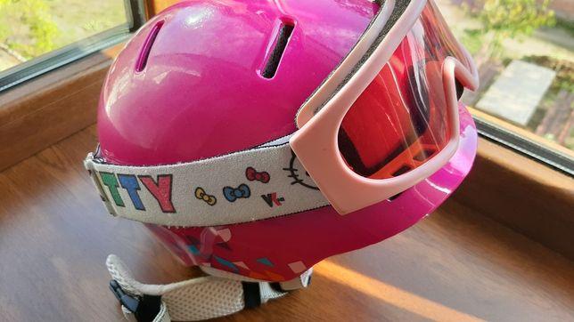 Продам зимний шлем с очками