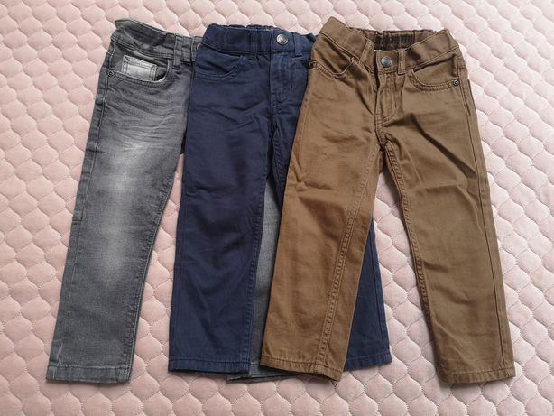 Spodnie jeansy rozm 92 hm i c&a