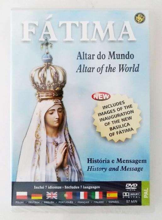 FÁTIMA - Altar do Mundo (DVD) - História e Mensagem Braga - imagem 1