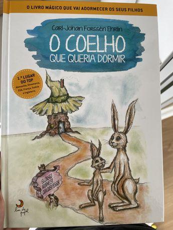 Livro O coelho que queria dormir