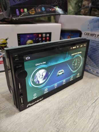 """Автомагнитола Pioneer 7"""" FullHD Bluetooth,Gps 4 ядра"""