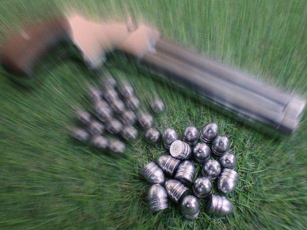 Pociski Conical ołowiane .450 miękkie, obtaczane, czarnoprochowy c. 44