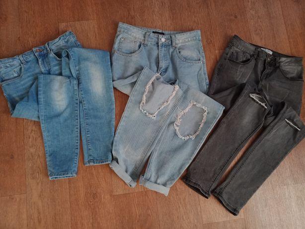 ЦЕНА за всё!! Джинсы скины джинсы с дырками