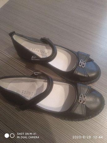 Школьные Туфли для девочки. Стелька 20 см. НОВЫЕ!