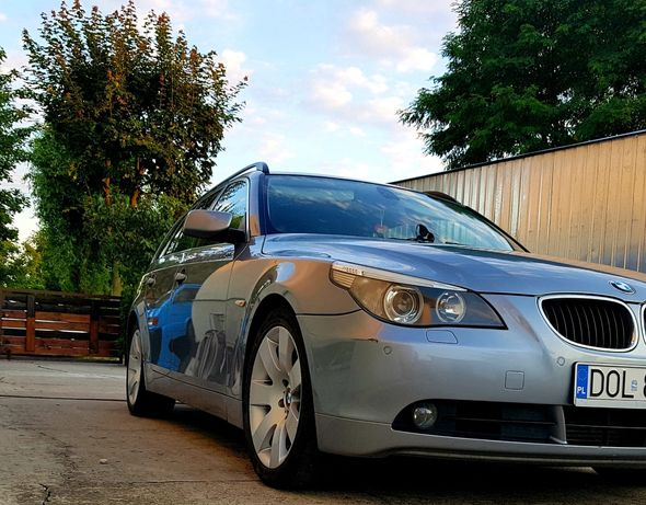 BMW E61 530 Seria 5, 18 cali, duża nawigacja, touring
