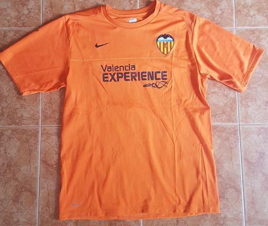 T-shirt de jogo e treino do Valência