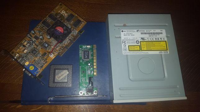 Karta graficzna CMX2S intel celeron karta internetowa napęd cd retropc