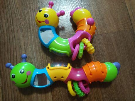 Развивающая игрушка гусеница