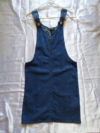 Waikiki Джинсовый сарафан, комбинезон женский, платье джинсовое