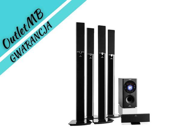 Zestaw kina domowego 5.1 kino domowe Bluetooth USB SD AUX 170508
