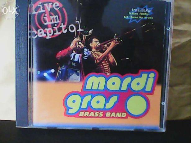 Mardi gras - Brass Band, live im capitol, CD