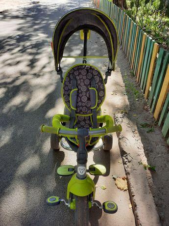 Продам велосипед с родительской ручкой