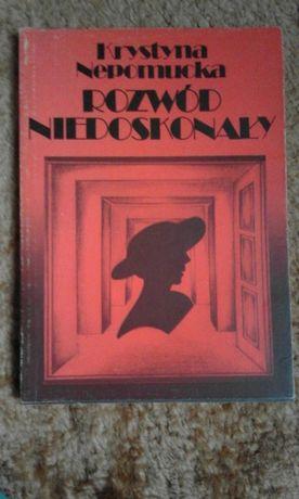 Sprzedam książkę ,,Rozwód niedoskonały'' Krystyna Nepomucka