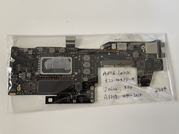 Apple logicboard para A1708, 820.00875.A 2016.2017 - a funcionar