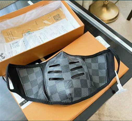 Máscara de Proteção com Válvula Lávavel & Mascaras Louis Vuitton