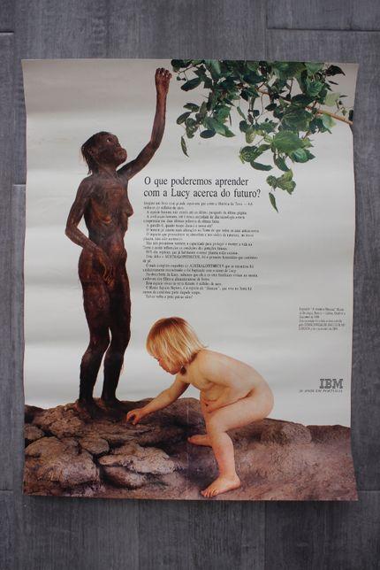 Poster / Cartaz : IBM 50 anos em Portugal - Exposição Lisboa 1988