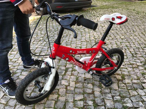Bicicleta criança Berg Blast 123 - Roda 12