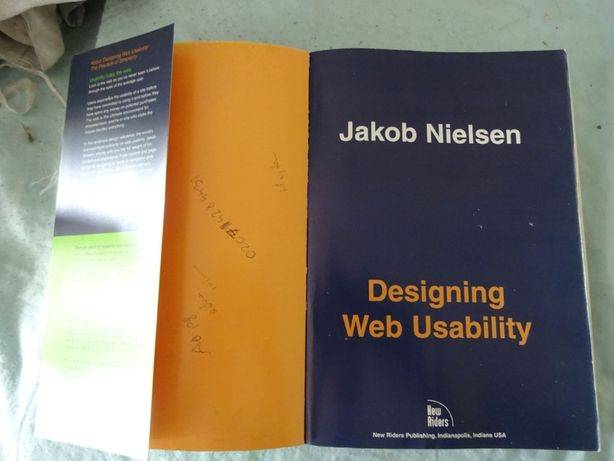 Designing Web Usability, Jakob Nielsen, New Riders Publishing, Indiana