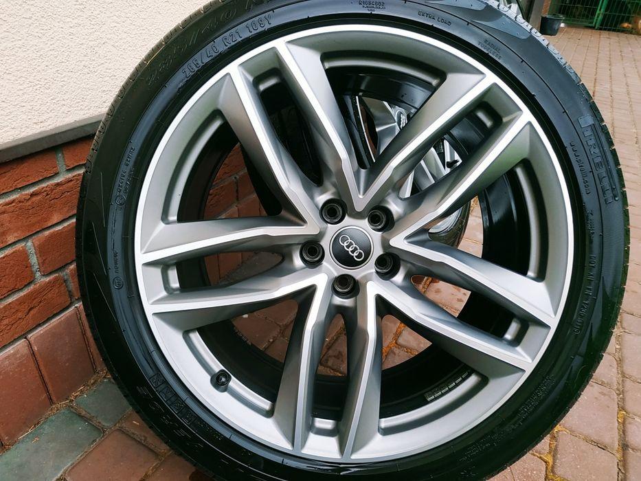 →Felgi Oryginal Audi RS6 C7 21x9,5 opony s6 s7 s5 rs4 s4 s3 sq5 sq7 c8 Konin - image 1