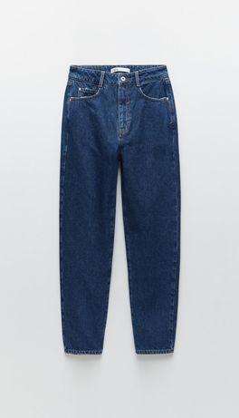 Джинсы Zara mom из новой коллекции,  размер 34 (xs)