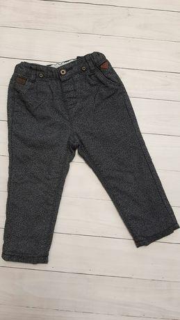 Нарядные весенние штаны на мальчика 80 см