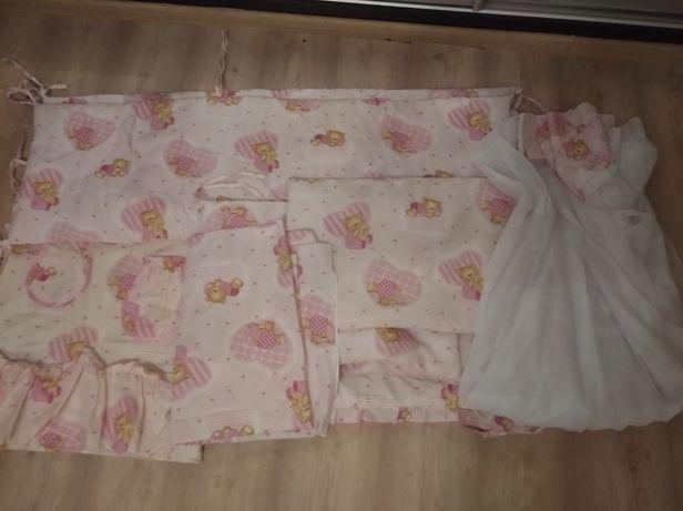 Набор постельного 8в1 для девочки