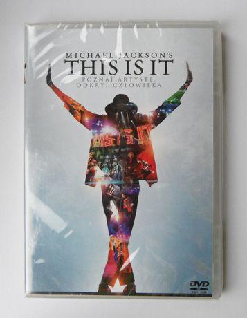 Nowy film This Is It Michael Jackson dokument napisy PL folia DVD