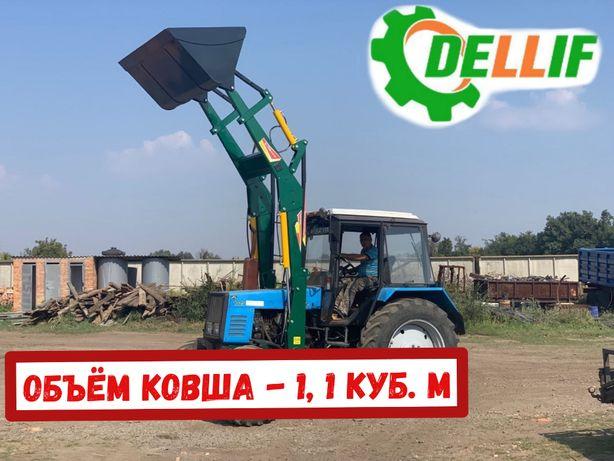 Фронтальный Погрузчик КУН Dellif Light 1200 , ковш 1.1 куб.м.