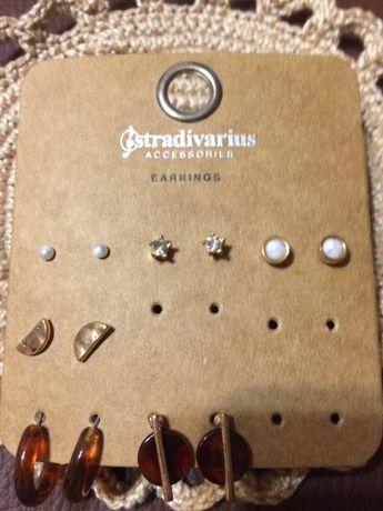 Серьги Stradivarius