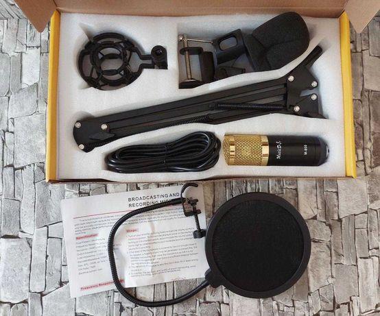 микрофон M-800U, для студии / запись, студийный / настольный /