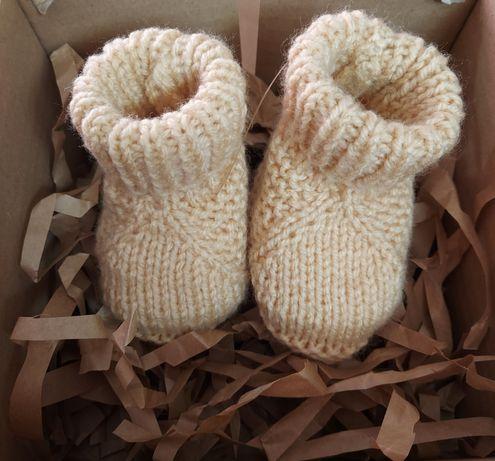 Kapcie buty dla noworodka newborn
