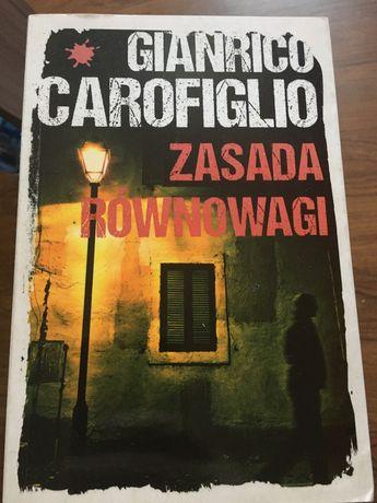 Książka Gianrico Carofiglio Zasada Równowagi
