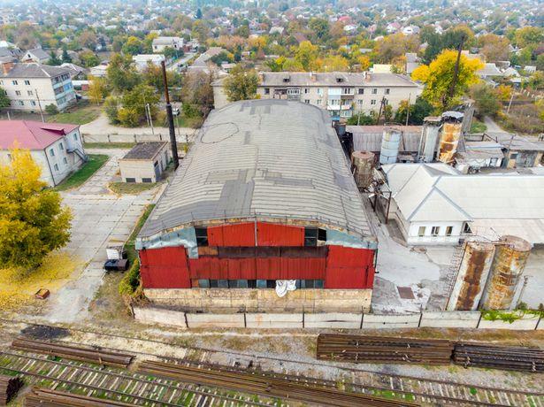 Продажа склада с мостовым краном и ж/д веткой