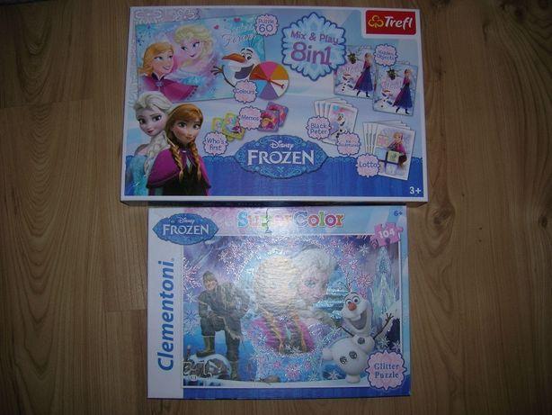 puzzle i gry Frozen, Kraina Lodu