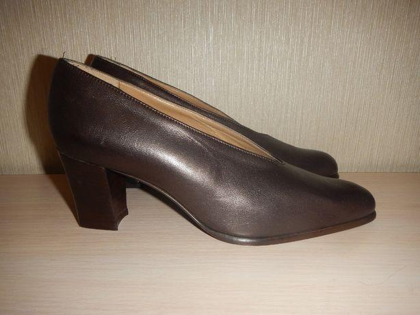 Кожаные туфли ponte vecchio р.36,5 италия