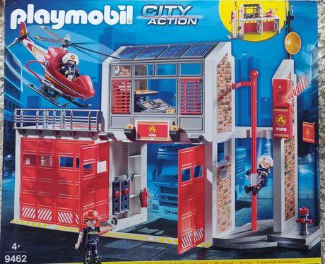 nowy Playmobil Remiza strażacka Duży zestaw 9462 straż pożarna