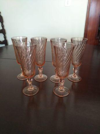 5 Flutes Luminarc Rosaline Redemoinho Novos