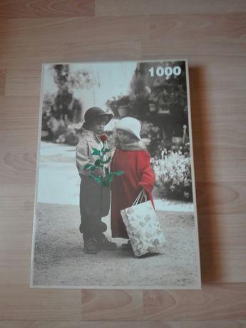Puzzle Jawa 1000 Dzieci vintage