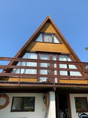 Domek Drewniany w stylu Kaszubskim