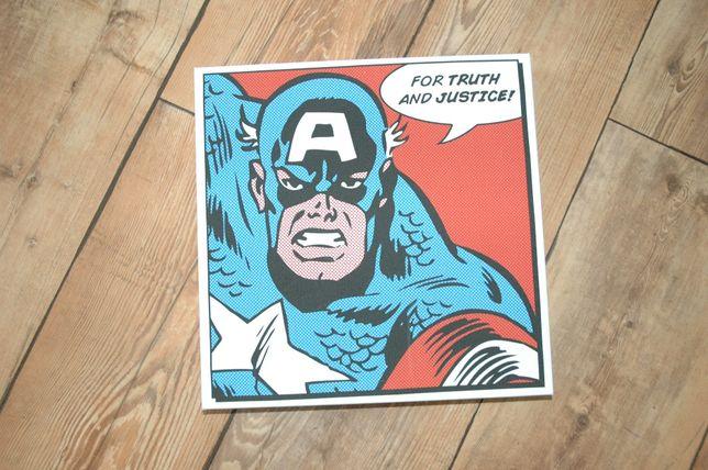 Kapitan Ameryka 30x30 Marvel