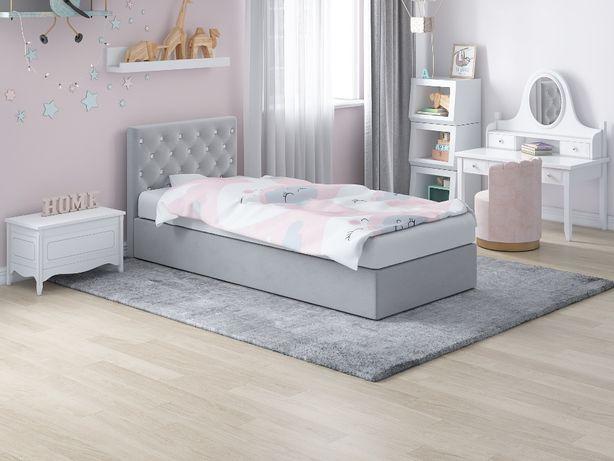 Pojedyncze łóżko 80x200 i 90x200 z pojemnikiem na pościel i materacem!
