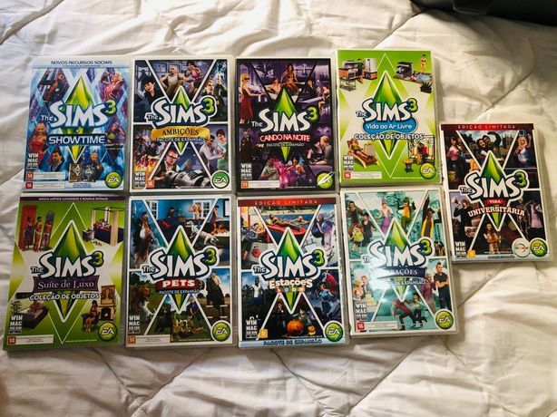 Jogos THE SIMS 3 (Package games)