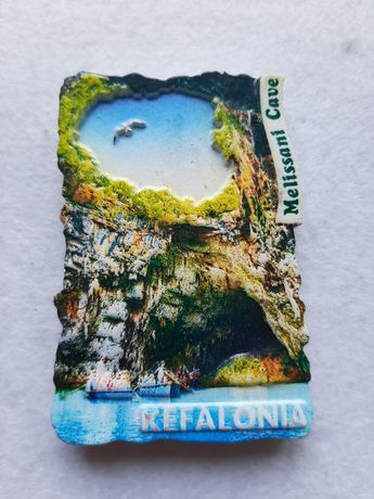 Kefalonia / Grecja - Magnes / magnesy na lodówkę / pamiątka.