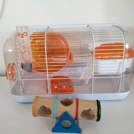 Gaiola de Hamster como nova