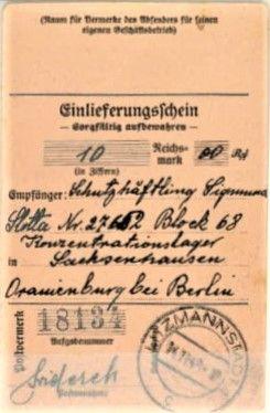 Obóz koncentracyjny Sachsenhausen 1940-potwierdzenie przekazu.