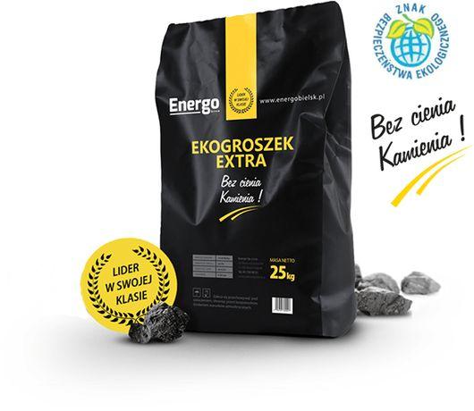 EKOGROSZEK EXTRA Suchy EXTRA Wydajny pakowany worki