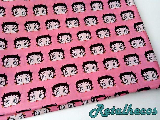 Retalhos Betty Boop polycotton